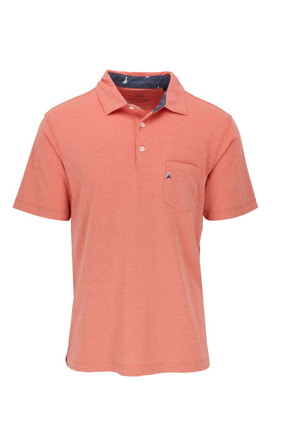 Tailor Vintage Coral Pocket Performance Polo