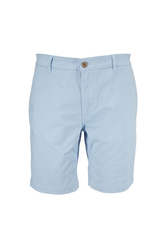 Tailor Vintage Summer Skyway Blue Walking Shorts