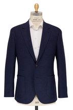 Brunello Cucinelli - Navy Wool & Cashmere Sportcoat