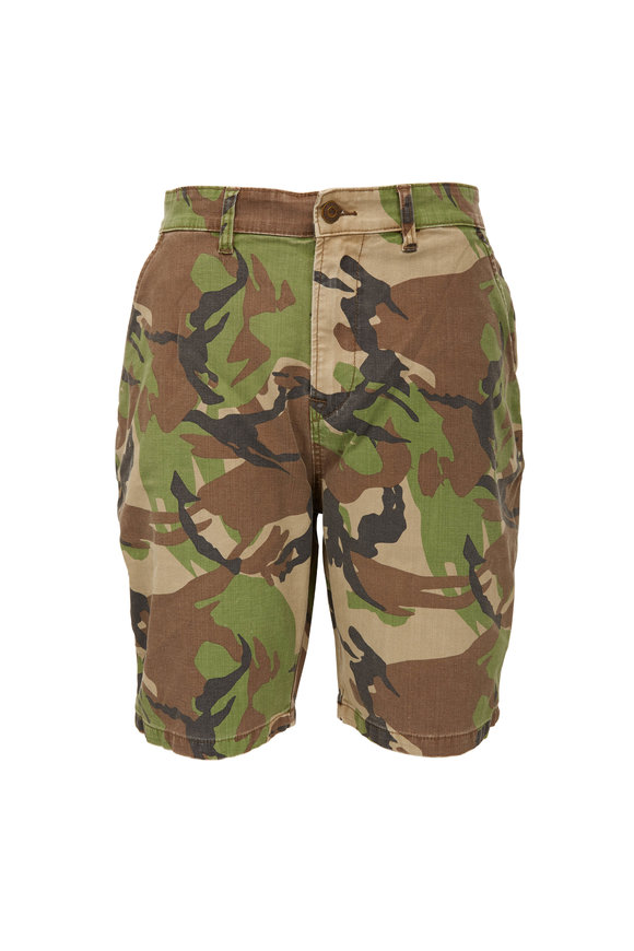 Hudson Clothing Camo Chino Shorts