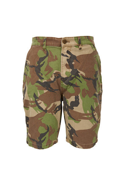 Hudson Clothing - Camo Chino Shorts