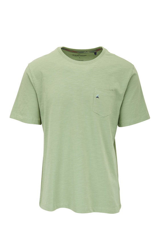 Tailor Vintage Green Buoy Pocket T-Shirt