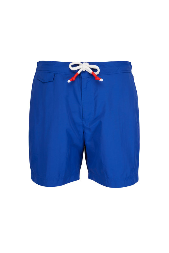 Orlebar Brown Standard Magazine Blue Swim Trunks