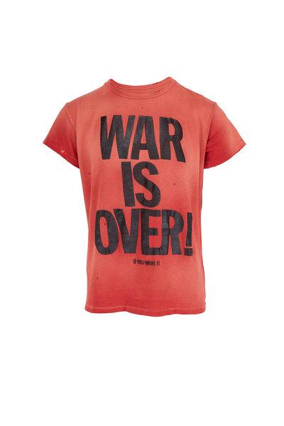 Madeworn - War Is Over Red T-Shirt