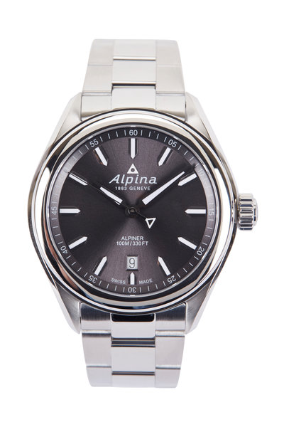 Alpina - Alpiner Quartz Grey Watch, 42MM
