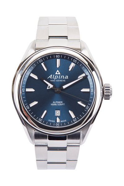 Alpina - Alpiner Quartz Navy Watch, 42MM