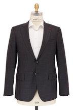 Isaia - Gray Tonal Windowpane Wool & Cashmere Suit