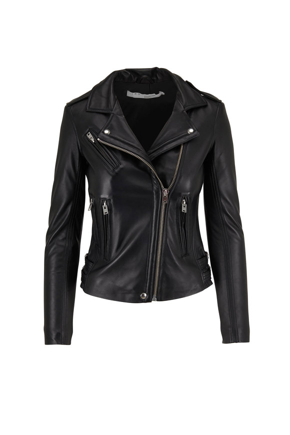 IRO Han Black Leather Jacket