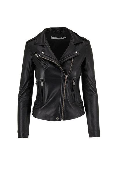 IRO - Han Black Leather Jacket