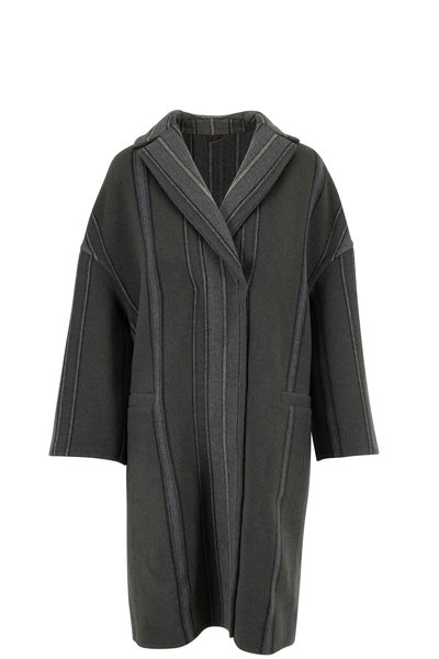 Brunello Cucinelli - Exclusively Ours! Military Wool & Cashmere Coat