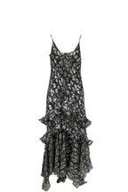 Michael Kors Collection - Spruce Python & Leopard Metallic Fil Coupé Dress