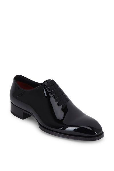 Tom Ford - Black Patent Leather Oxford