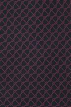 Brioni - Olive Green Geometric Silk Necktie