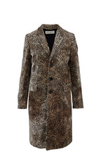 Saint Laurent - Mini Leopard Print Chesterfield Coat