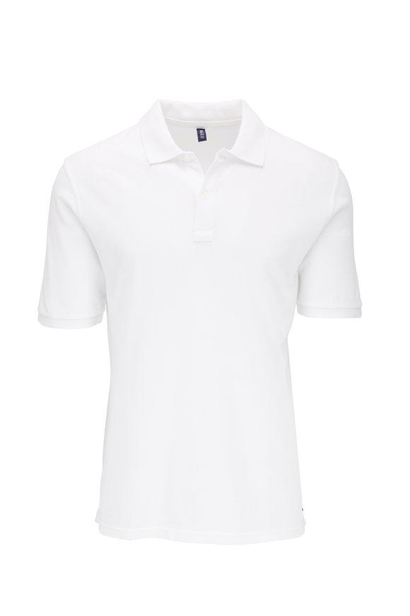 04651/ White Piqué Polo