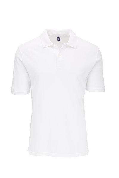04651/ - White Piqué Polo