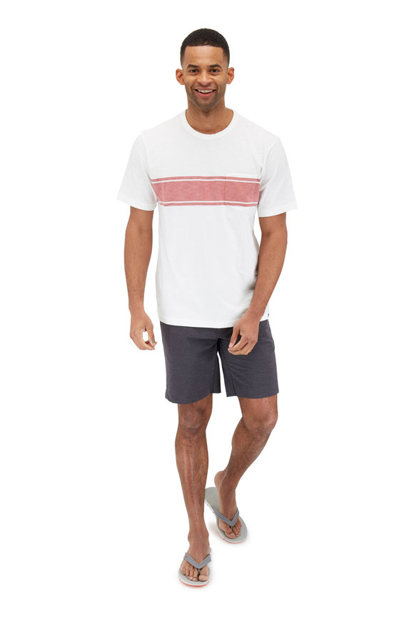 Faherty Brand All Day Charcoal Shorts