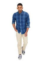 Faherty Brand - Pacific Indigo Plaid Sport Shirt