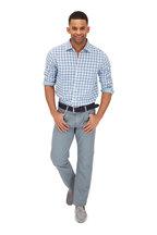 Faherty Brand - Ventura Indigo Plaid Sport Shirt