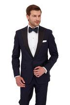Eton - White French Cuff Slim Fit Tuxedo Dress Shirt