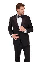 Brioni - Black Wool Peak Lapel Tuxedo
