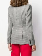 Alexander McQueen - Black & White Prince Of Wales & Houndstooth Jacket