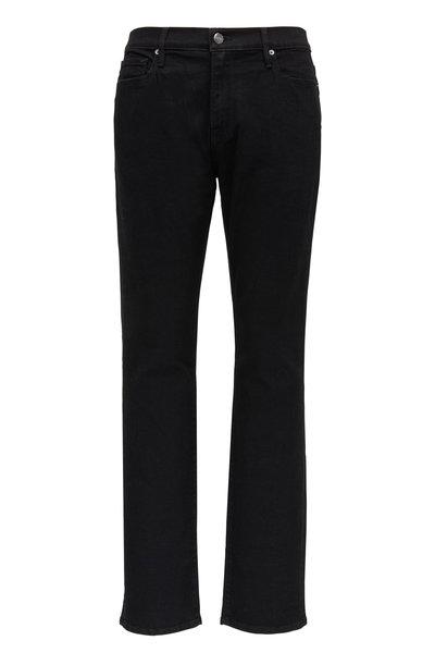 Frame - L'Homme Noir Slim Fit Mid-Rise Jean
