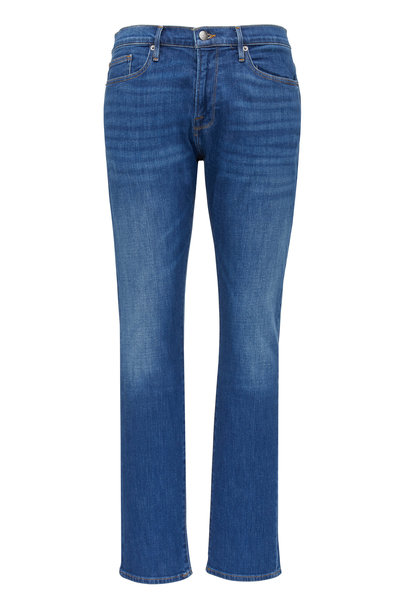 Frame - L'Homme Verdugo Slim Fit Mid-Rise Jean