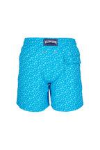 Vilebrequin - Moorea Micro Turtles Blue Swim Trunks