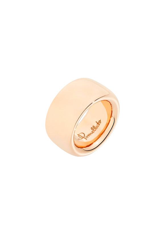 Pomellato 18K Rose Gold Iconic Maxi Ring