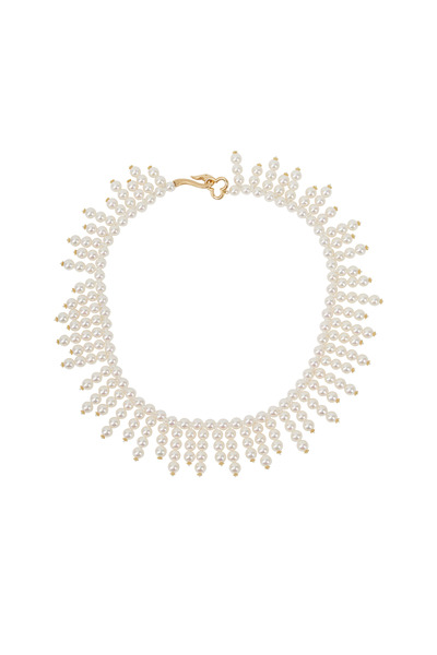 Assael - Angela Cummings Gold Cultured Akoya Pearl Necklace