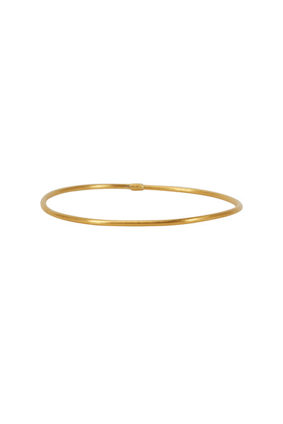 Yossi Harari - Jane Yellow Gold Stack Bangle Bracelet