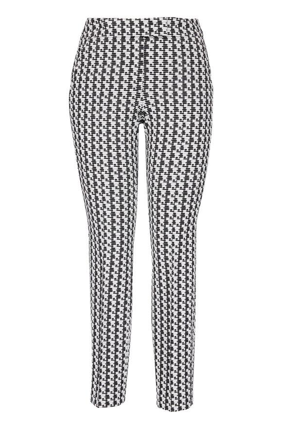 Akris Punto Frankie Black & White Jersey Pant