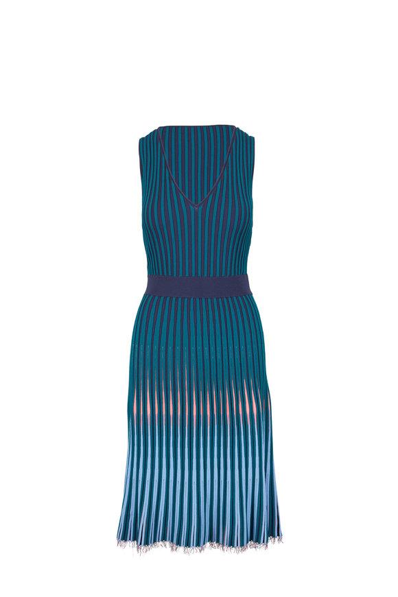 Altuzarra Tunbridge Degrade Multicolor Knit Dress