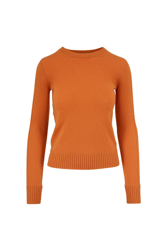Vince Sienna Cashmere Ribbed Crewneck Sweater