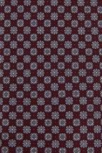 Brioni - Burgundy Geometric Silk Necktie