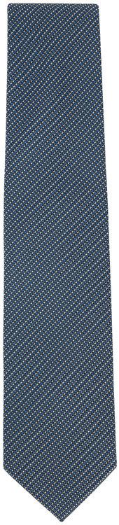 Eton Emerald & Blue Tic Silk Necktie