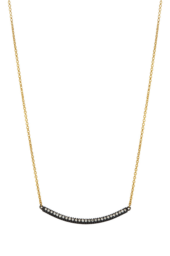 Yossi Harari 18K Yellow Gold & Silver Stick Lilah Necklace