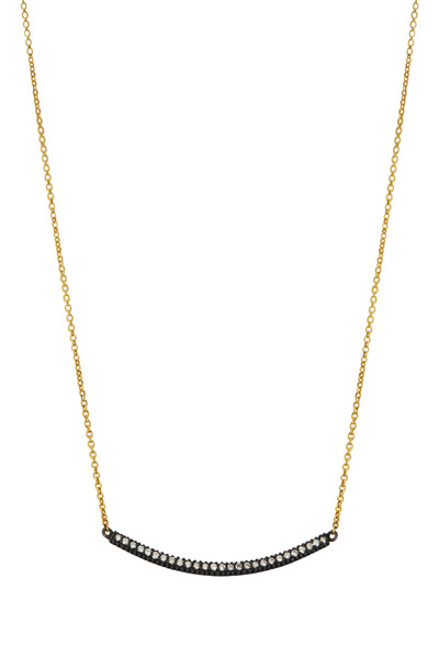 Yossi Harari - 18K Yellow Gold & Silver Stick Lilah Necklace