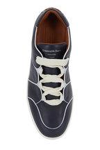 Ermenegildo Zegna - Tizano Navy Blue Leather Lace-Up Sneaker