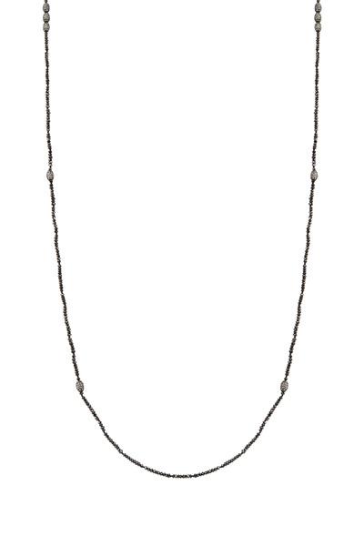 Yossi Harari - Black Diamond Wrap Necklace