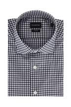 Ermenegildo Zegna - Black & White Check Classic Fit Sport Shirt