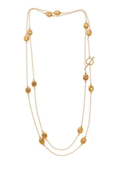 Yossi Harari - Roxanne Yellow Gold Mini Wrap Necklace