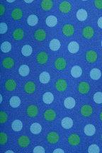 Kiton - Blue & Green Silk Dot Necktie