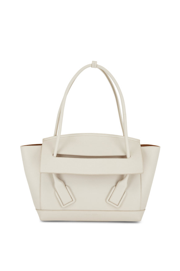 Bottega Veneta The Arco 33 Plaster Medium Top Handle Bag