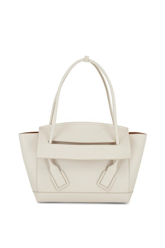 Bottega Veneta The Arco 33 Plaster Medium Top Handle Bag