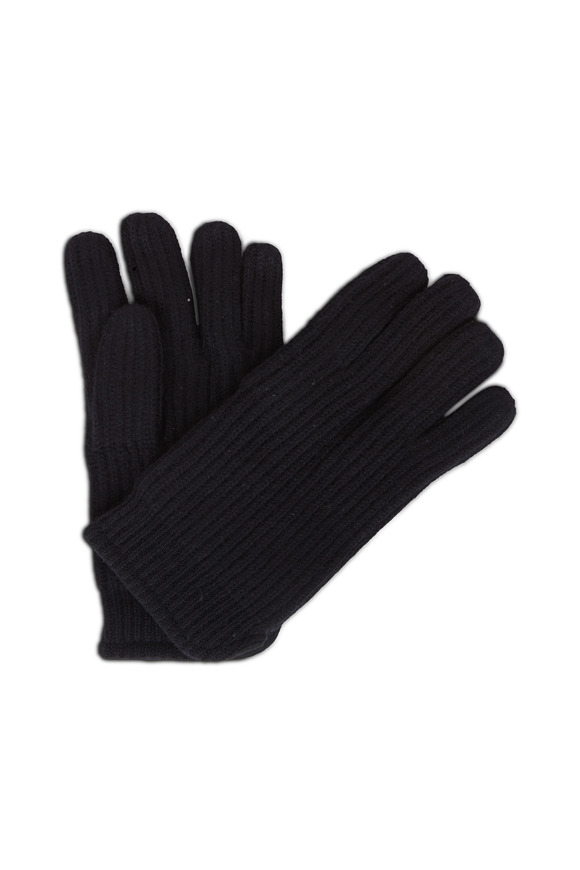 Raffi  Black Cashmere Gloves