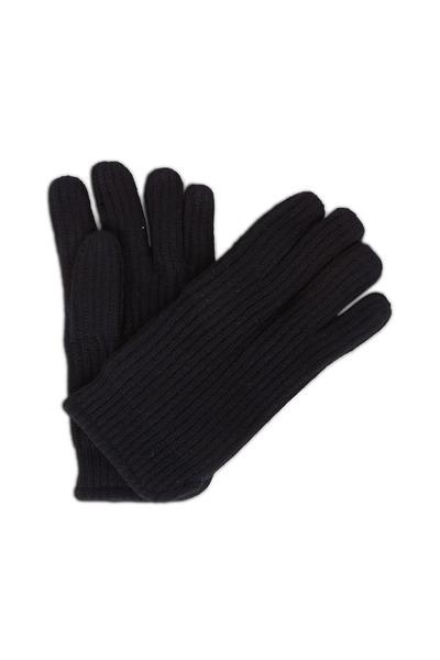 Raffi - Black Cashmere Gloves