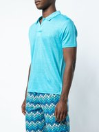 Vilebrequin - Pyramid Horizon Linen Jersey Short Sleeve Polo