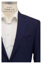 Canali - Capri Navy Blue Wool Sportcoat